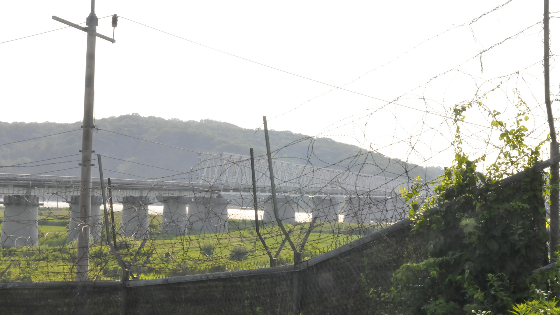 Imjingak Railroad Bridge Sideview