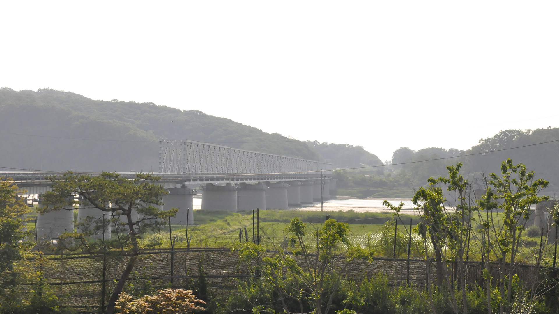 Imjingak Railroad Bridge